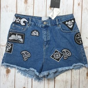 ASOS | Patch-Filled Shorts